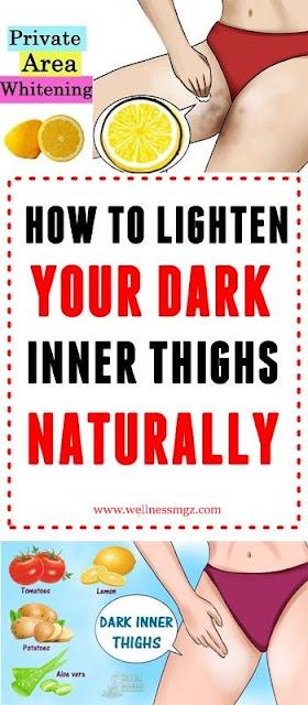 How To Lighten Dark Inner Thighs Naturally