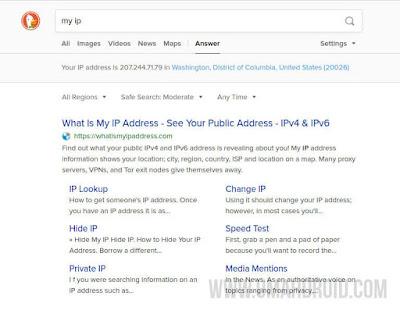 Browsing Anonymous Menggunakan Firefox
