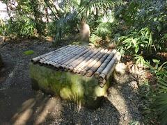高安寺:弁慶硯の井戸