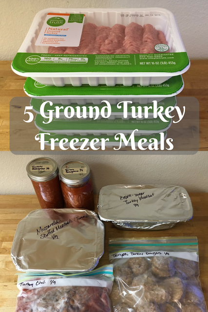 5 Ground Turkey Freezer Meals | Chief Family Officer