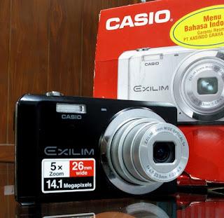 Jual Casio Exilim EX-ZS5 - Kamera Digital Bekas