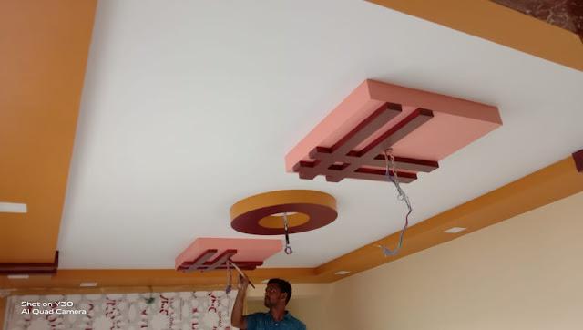 Ceiling interior roof design in goa