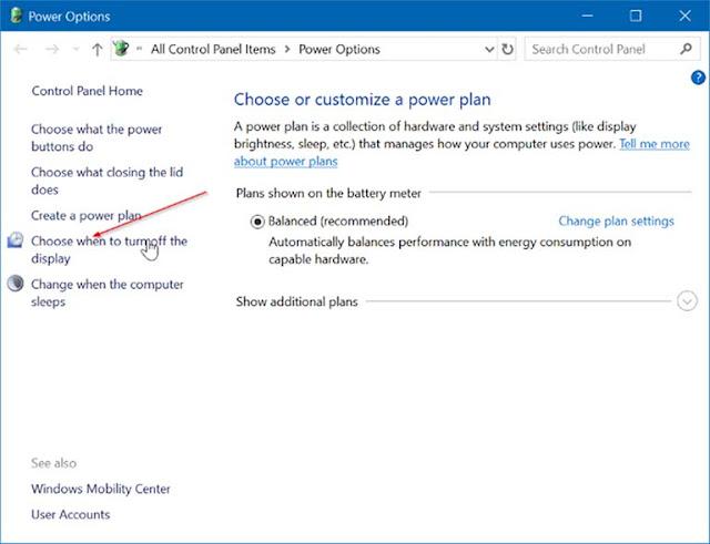 Cara Hibernate Otomatis Perangkat Windows 10 Ketika Baterai Sudah Lemah
