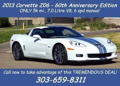 2013 Corvette Z06 60th Anniversary Edition at Purifoy Chevrolet