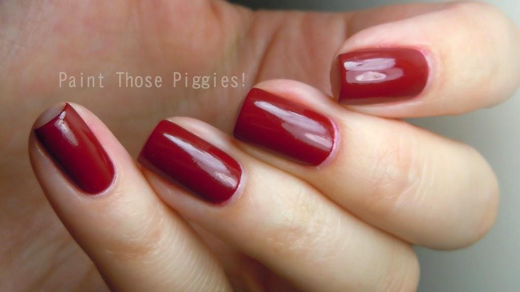 Paint Those Piggies!: Essie Dress to Kilt Fall 2014