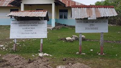 Kantor Desa Badarai Tidak Terawat, Rumah Kades Jadi Tempat Pelayanan Masyarakat