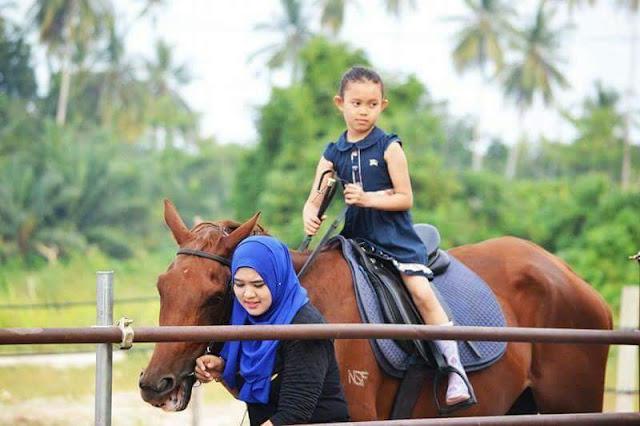 Aktiviti Berkuda di Kampung Penchalang || Hanna