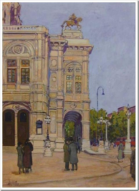 Vienna - Pinturas do Ditador Adolf Hitler