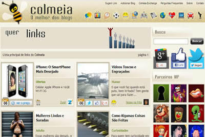 divulgar blogs no agregador colméia