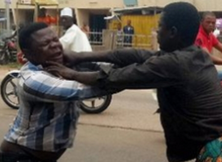 Lokoja Pastor Attempts To Heal A Mad Man And Was Beaten (Photos)