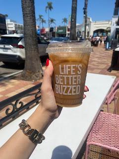 better buzz coffee La Jolla, vanilla latte better buzz