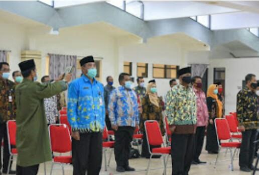 Plt Bupati Jember Penandatangan Pengembalian SK Jabatan ASN Ke Posisi Semula