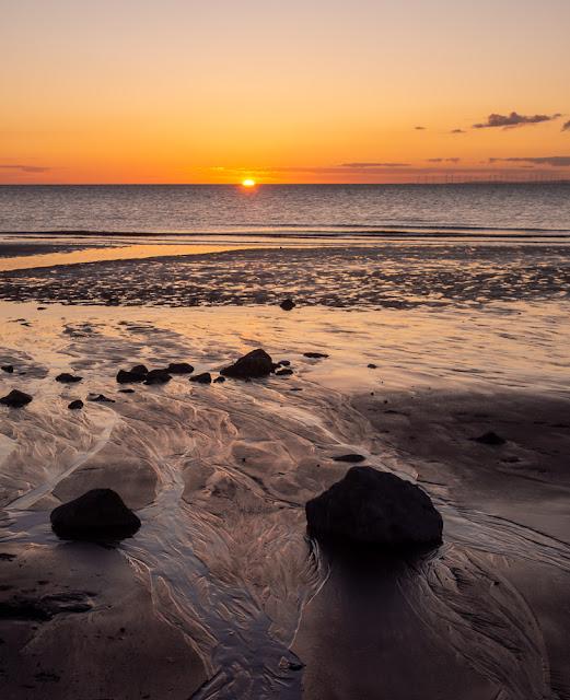 Photo of Maryport beach sunset
