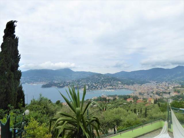 panorama Rapallo sentiero 5 Campanili
