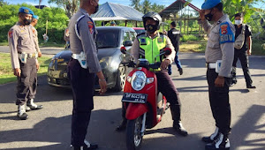 Puluhan Polisi di KLU terjaring Razia Bid Propam
