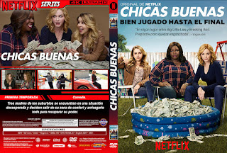 CHICAS BUENAS – GOOD GIRLS – 2019 TEMP: 1 – 2 [COVER – DVD – SERIES]