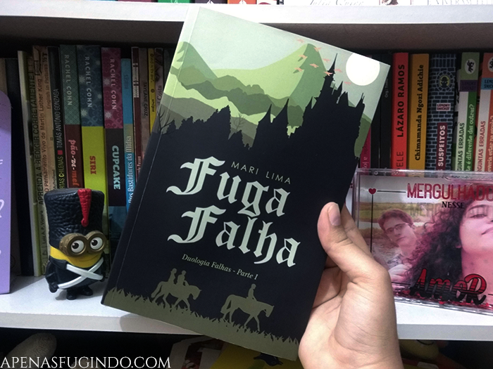 livro fuga falha mari lima