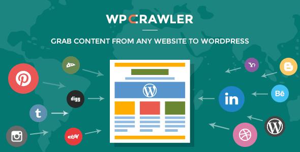WP Content Crawler giúp lấy nội dung tự động không cần RSS