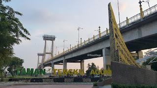 Wisata Jembatan Tengku Agung Sultanah Latifah Siak