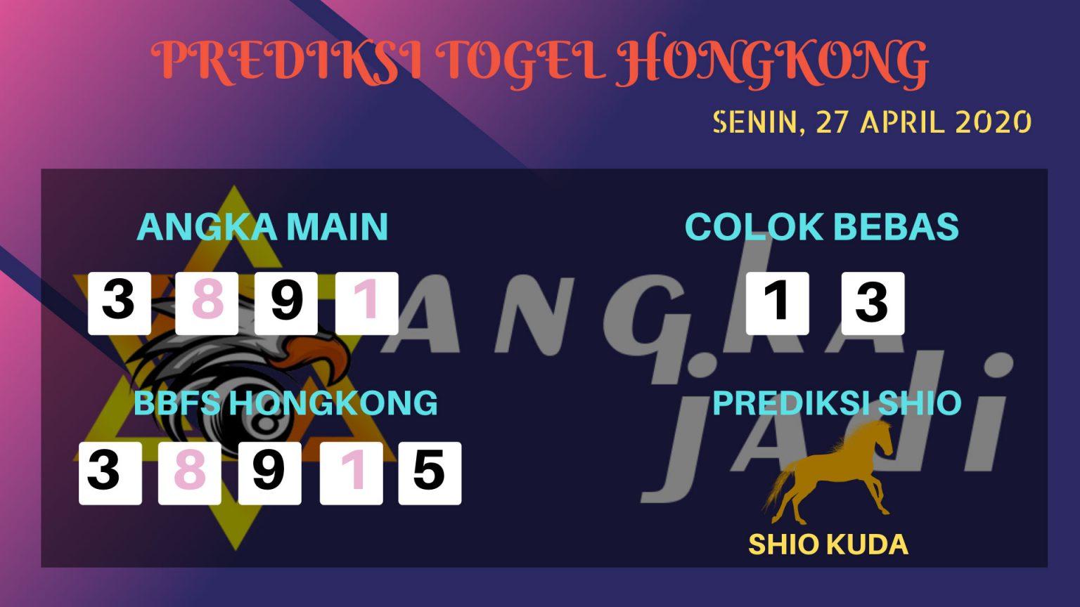 Prediksi HK 27 April 2020 - Prediksi Angka HK