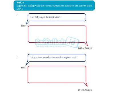 Kunci Jawaban Chapter 7 Task 2 Hal 98-100 Bahasa Inggris Kelas 10