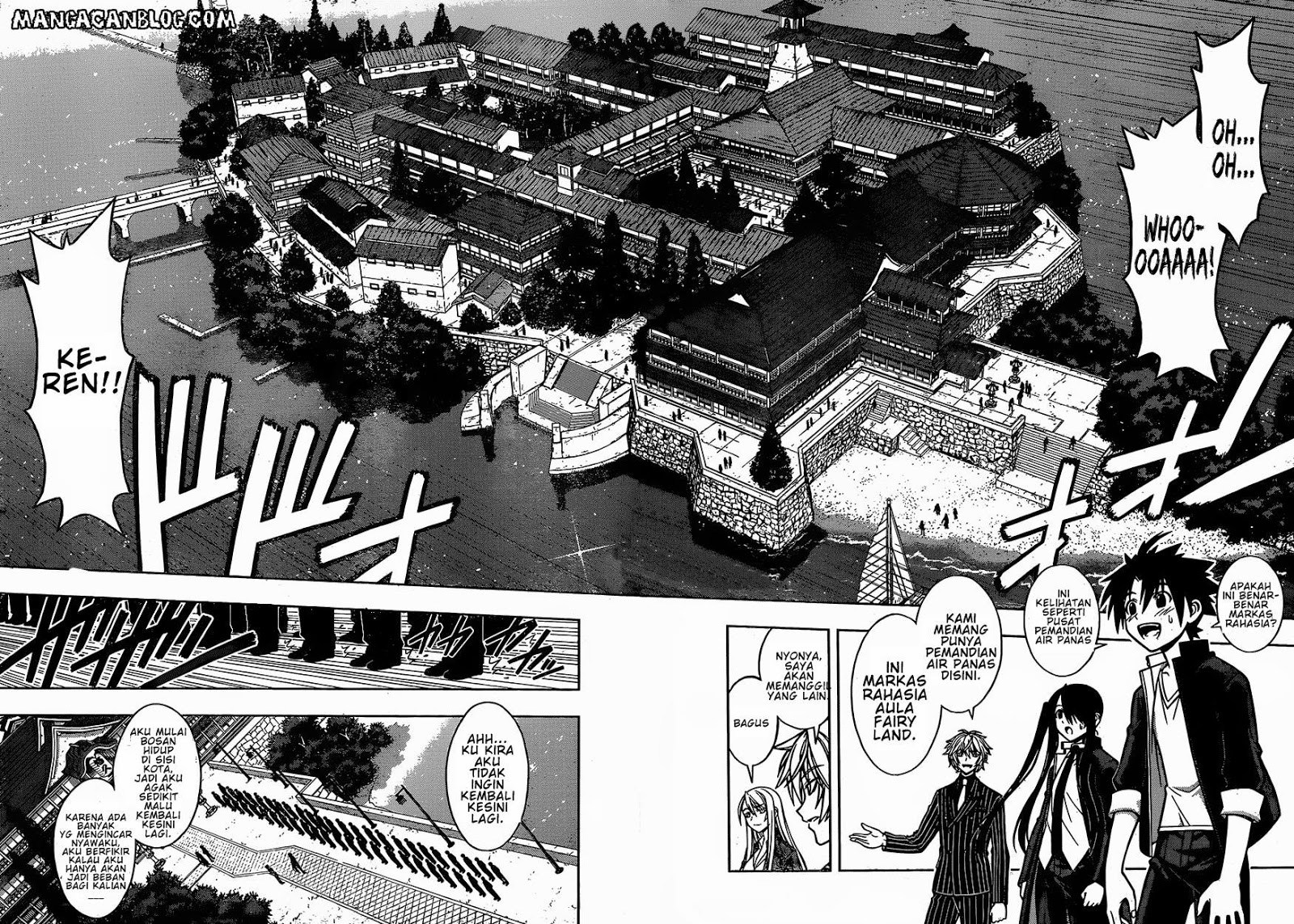 Komik UQ Holder! Chapter 7 Bahasa Indonesia
