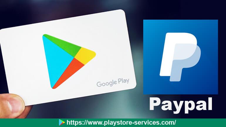 شراء تطبيقات من متجر جوجل بلاي بإستخدام حساب بايبال