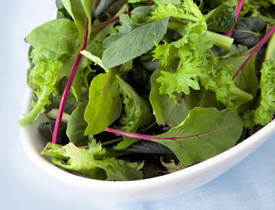 Leafy green are full of lutein and zeaxanthin good for eyes