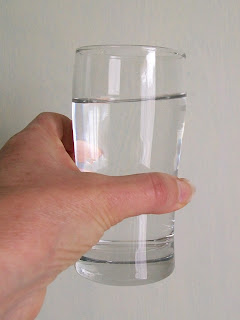Glass of Water. DorothyHealthCoach.co.nz