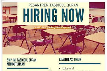 Lowongan Kerja Bandung Guru SMP IMI Tasdiqul Qur'an