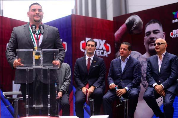 Andy Ruiz Jr Honored