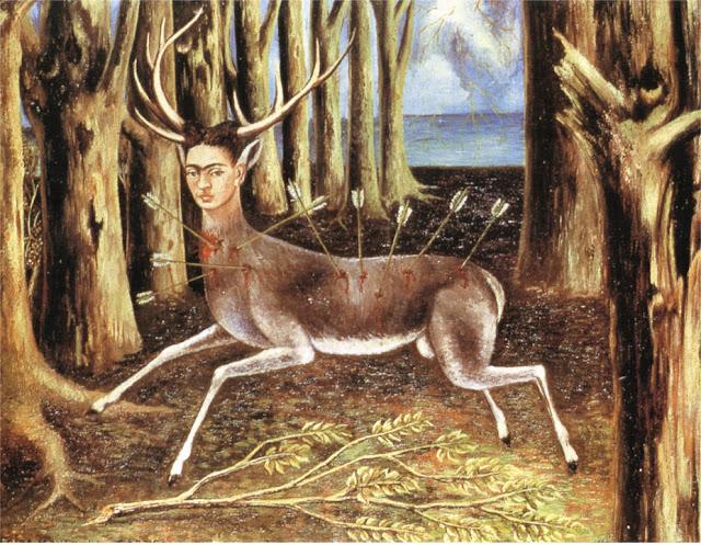Фрида Кало - Раненый олень. 1946