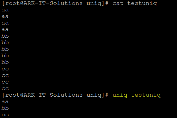 String Related Commands