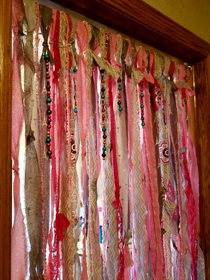 Painted Bamboo Curtains For Doors Beaded Curtain Poles