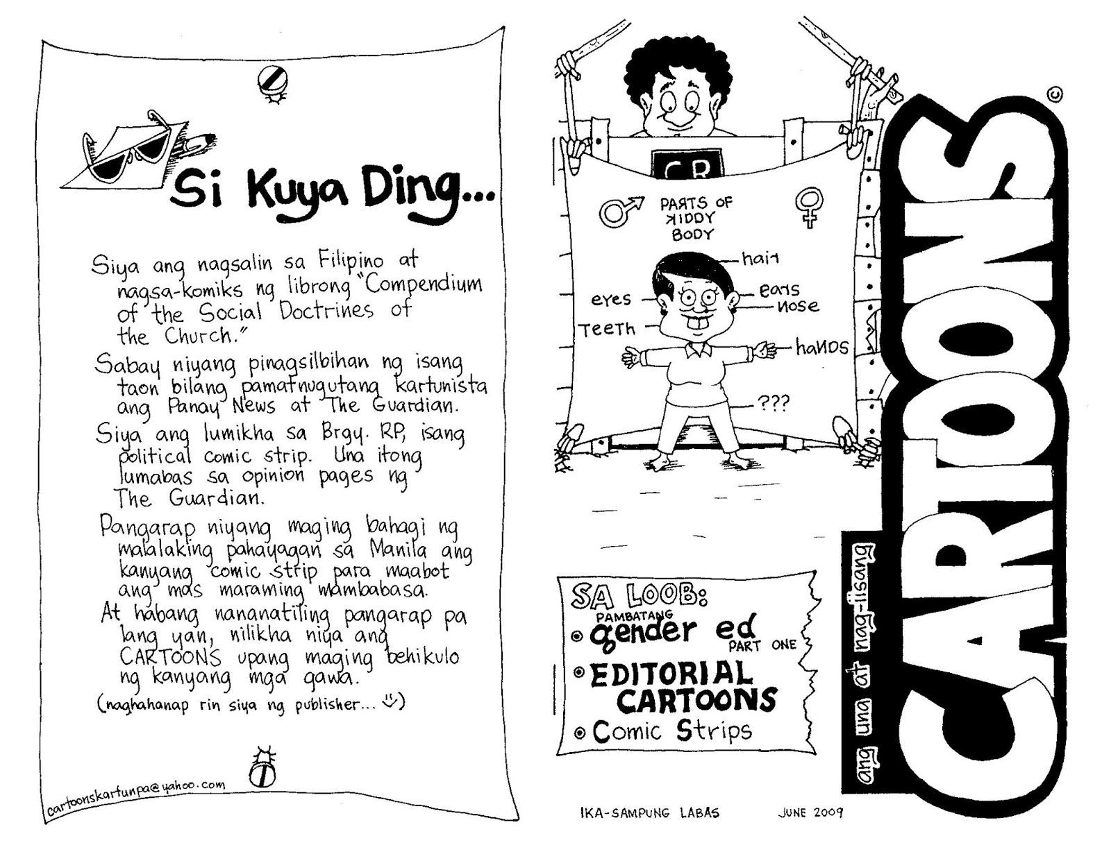editoryal tagalog - philippin news collections