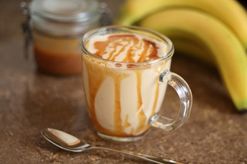 How to make caramelized banana smoothie
