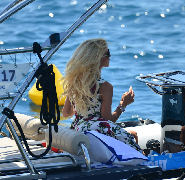 Actress, Singer, Model, @ Victoria Silvstedt At Eden Roc Hotel In Antibes