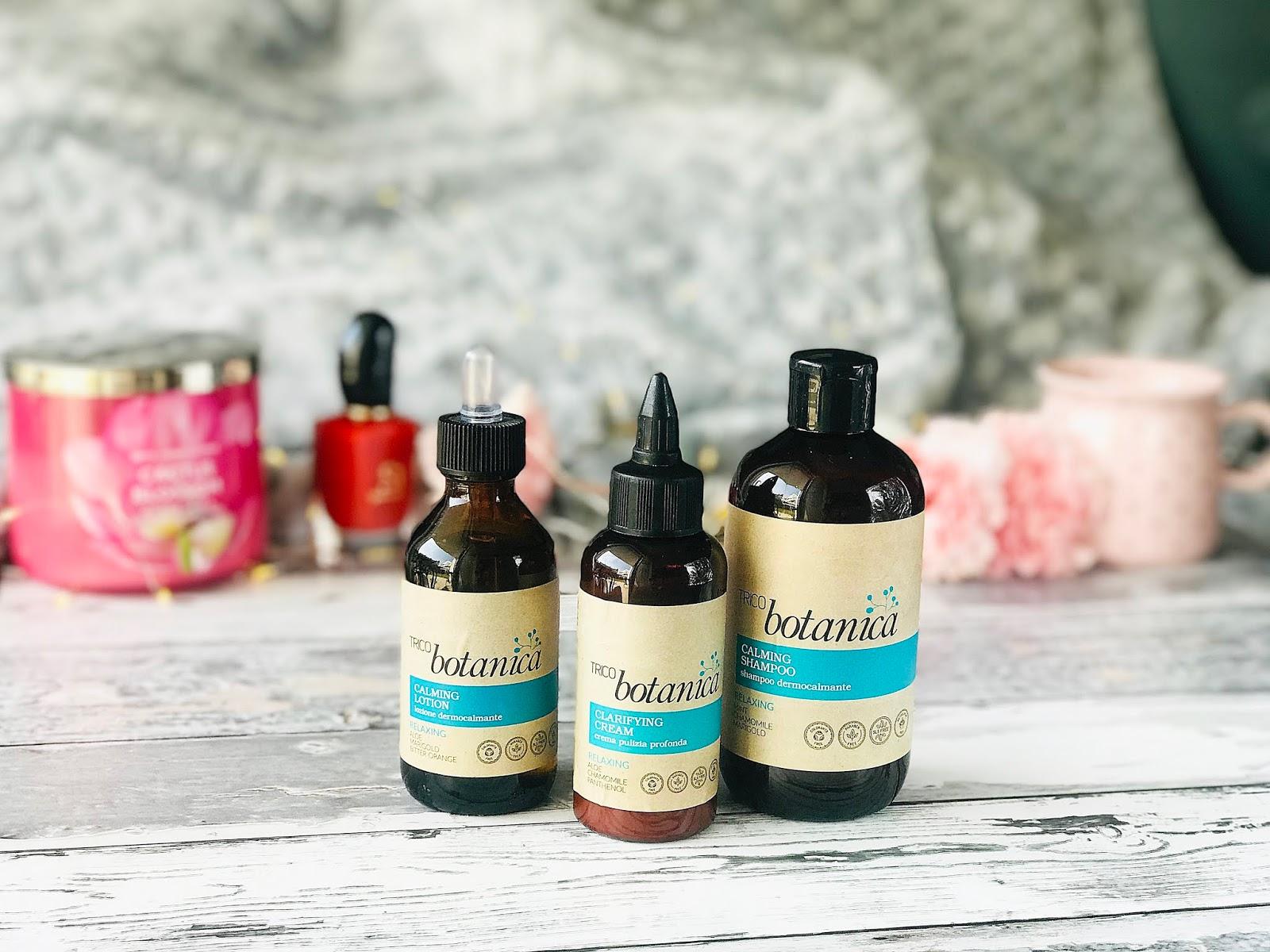 TRICO botanica | Oczyszczanie i Relaks | szampon, krem, lotion