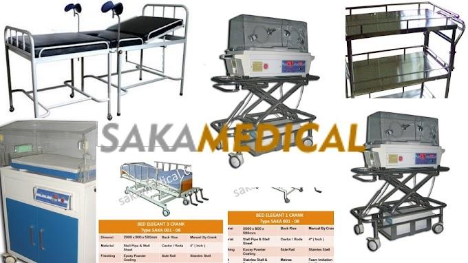 Jual Ranjang Rumah Sakit Premium - Saka Medical