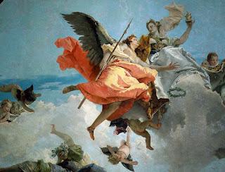 Giambattista Tiepolo: el lienzo que representa la nobleza y la virtud que descomponen la ignorancia