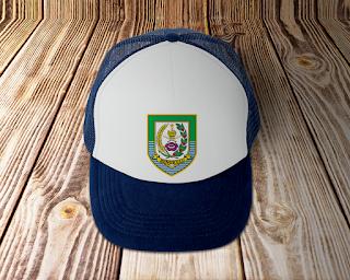 desain topi lambang logo provinsi bengkulu - kanalm