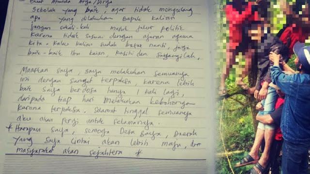 "Kades Bunuh Diri Tulis Pesan, ""Jangan Sekali-kali Masuk Politik, Setiap Hari Terpaksa Bohong"""