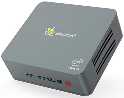 Beelink U57: mini PC con procesador Intel Core i5, Windows 10 Home y conectividad USB-C