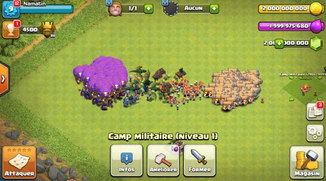 Cheat COC Unlimited Troops (1)