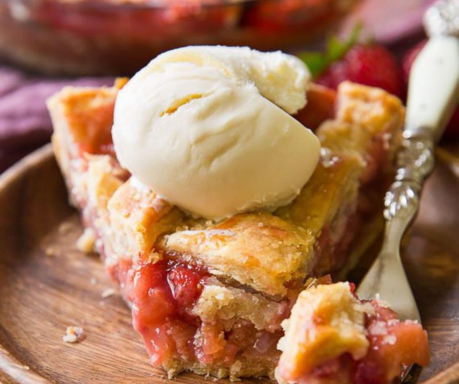 Strawberry Rhubarb Pie - food-drink-recipes.com