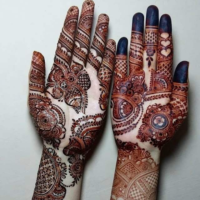 latest arabic mehndi designs for hands 2012 images