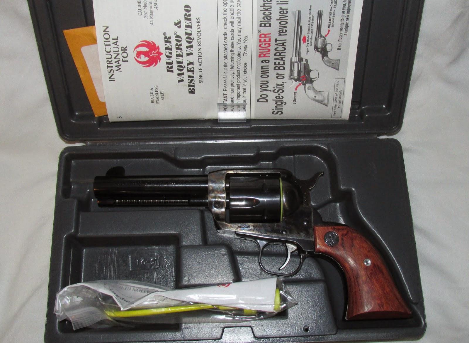 TINCANBANDIT's Gunsmithing: Ruger Vaquero upgrades