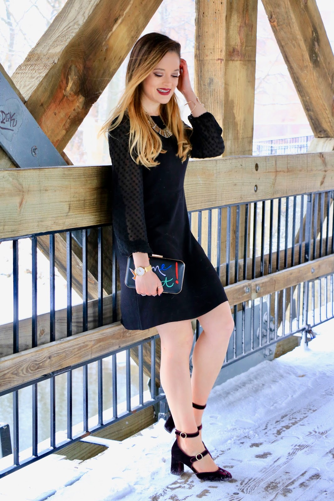 Nyc fashion blogger Kathleen Harper's party outfit ideas