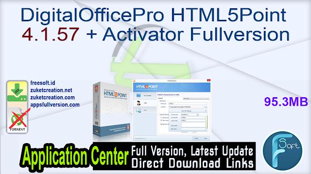 DigitalOfficePro HTML5Point 4.1.57 + Activator Fullversion