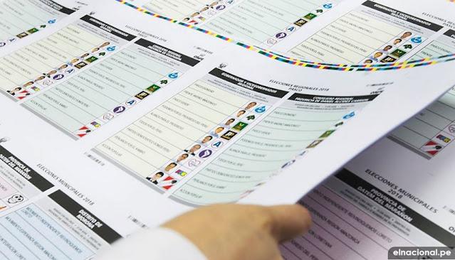 Partidos no pasen valle electoral
